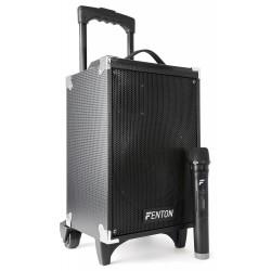 "Sistema portátil de sonido de 8"" BT/MP3/USB/SD/VHF"