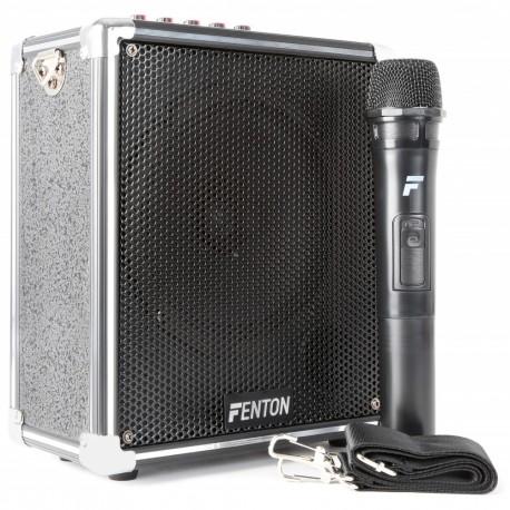 "Sistema portátil de sonido de 6.5"" BT/MP3/USB/SD/VHF"