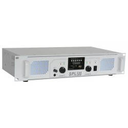 Amplificador SPL-500MP3 Skytec con EQ blanco
