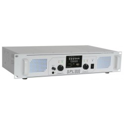 Amplificador SPL-1000MP3 Skytec con EQ blanco