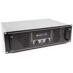 SKY-1500B Amplificador de sonido 2x750W Skytec