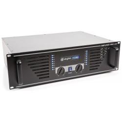 SKY-2000B Amplificador de sonido 2x1000W Skytec
