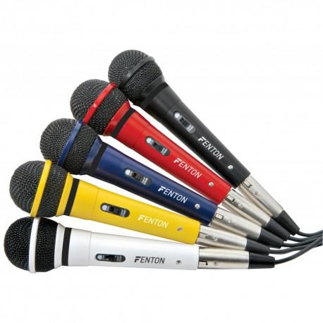 Juego 5 micrófonos Fenton