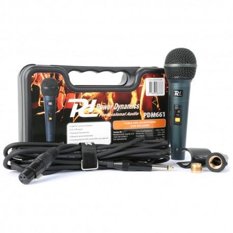 PDM-661 Micrófono dinámico Power Dynamics