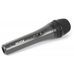 Micrófono dinámico Fenton 600 Ohms balanceado