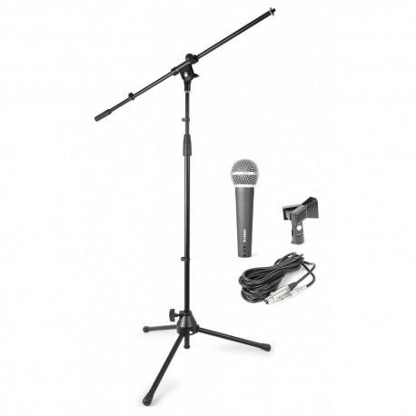Kit de micrófono con bolsa de transporte