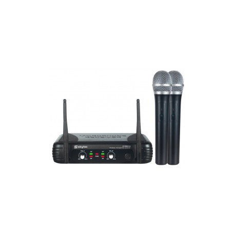STWM-722 Micro inalámbrico Diversity UHF 2 canales Skytec