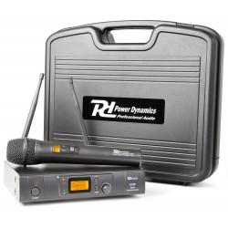 PD-781 Micrófono inalámbrico UHF de 8 canales con 1 micro Power Dynamics