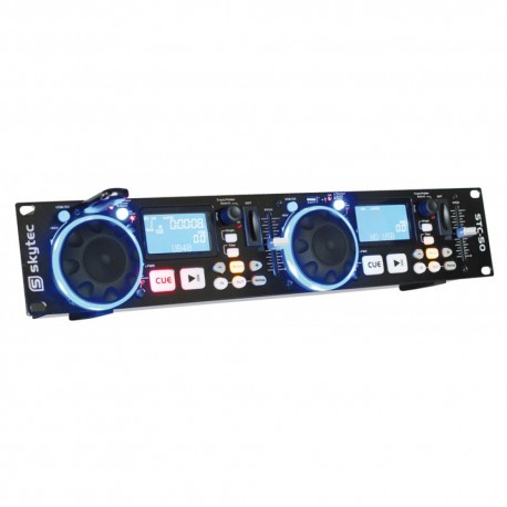 STC50 Doble reproductor MP3/USB/SD Skytec