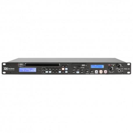 PDC35 Grabadora digital CD/USB/SD Power Dynamics