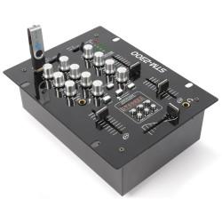 STM-2300 Mezclador de 2 canales USB/MP3 Skytec