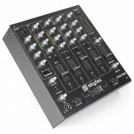 STM-7010 Mezclador 4 canales USB Skytec