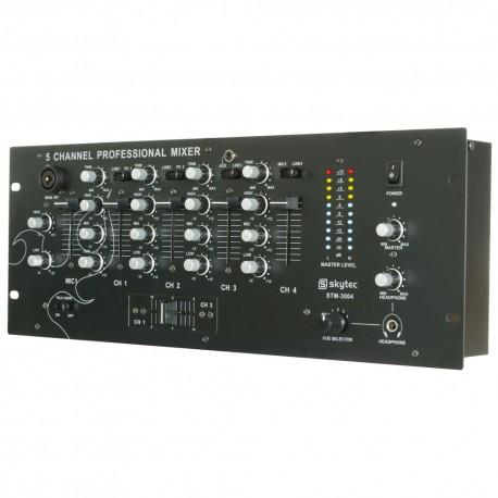 "STM-3004 Mezclador de 4 canales con ecualizador 19"" Skytec"