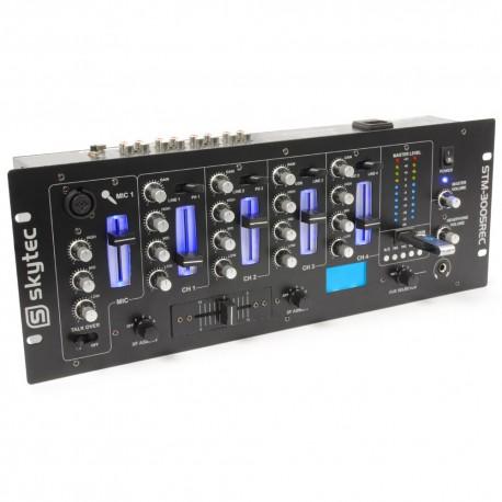 STM-3005REC Mezclador de 4 canales EQ MP3 grabación Skytec