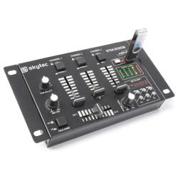 STM-3020B Mezclador de 6 canales con USB/MP3 Skytec