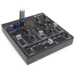 STM-2250 Mezclador  4 canales con efectos USB/MP3 Skytec