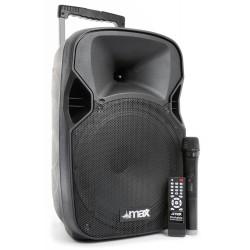 "P12BT Sistema portátil de sonido 12"" BT/MP3/USB/TF/VHF/IRC"