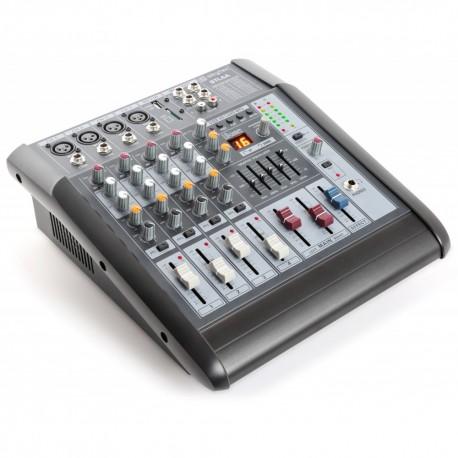 STL6A 6- Mezclador con amplificador 6 canales SD/USB/MP3/DSP Skytec