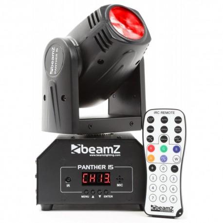 BeamZ Panther 15 cabeza móvil mini LED