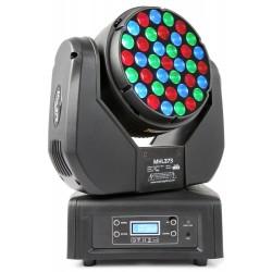 BeamZ Professional MHL373 cabeza móvil LED 37x3W RGB 14 canales DMX