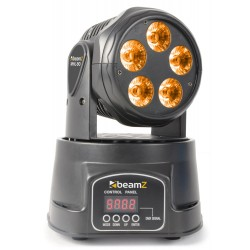 BeamZ MHL90 mini cabeza móvil Wash 5x18W RGBAW-UV LEDs