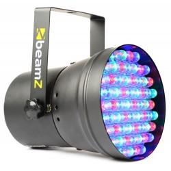 BeamZ Foco Par 36 Spot 55x10mm RGB