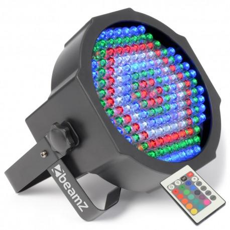 BeamZ Foco PAR plano 154x10mm RGBW, IR, DMX