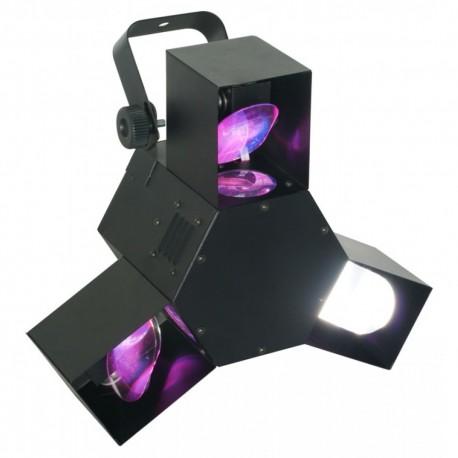 BeamZ Triple flex LED centro pro DMX