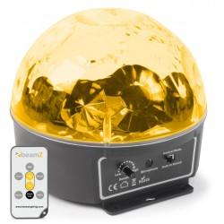 BeamZ Mini star ball 6x3W RGBAWP IR mando a distancia