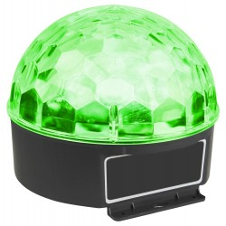 MAX Magic jelly DJ ball activada por sonido 6x1W LED
