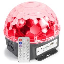 MAX Magic jelly DJ ball al ritmo de la música 6x1W LED con reproductor MP3