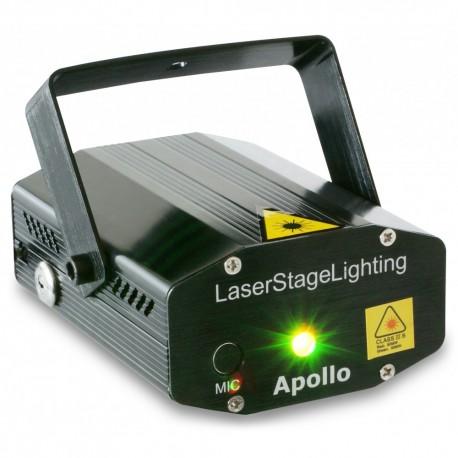 BeamZ Apollo láser multipunto rojo y verde