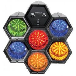 BeamZ Efecto de luz LED con 6 módulos interconexionables