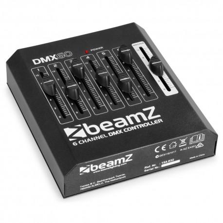 BeamZ DMX60 controladora 6 canales