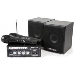 Fenton AV380BT Kit de amplificador con bafles USB/SD/BT