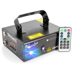 BeamZ Anthe II doble láser 600mW RGB gobo DMX IRC