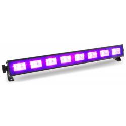 BeamZ BUV93 barra de LED 8x3W UV