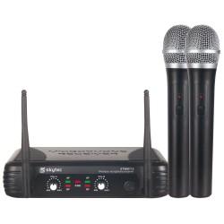 Pack 2 micrófonos inalámbricos