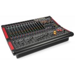PDM-S1604A Mezclador amplificado de escenario 16 canales Power Dynamics