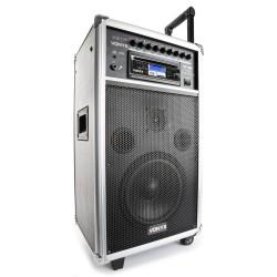 "ST100 MK2 Sistema portátil 8"" BT/CD/MP3/UHF Vonyx"