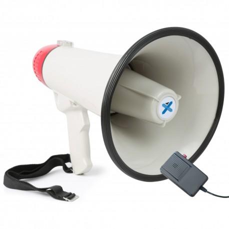 MEG-040 Megáfono 40W grabación/sirena/micrófono Vonyx