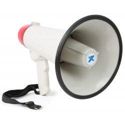MEG-045 Megáfono 40W USB/SD grabación,sirena,aux. Vonyx