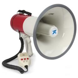 MEG-050 Megáfono 50W grabación, sirena, micrófono Vonyx