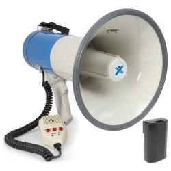MEG-065 Megáfono 65W USB/SD, grabación, sirena, micrófono Vonyx