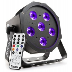 BeamZ BFP130 Foco PAR plano LED 6x6W UV