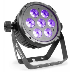 BeamZ BT280 Foco PAR plano LED 7x10W 6-en-1 RGBAW UV