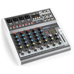 VMM-K602 Mezclador de directo 6 canales con DSP Vonyx