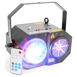 BeamZ Sway LED jellyball con láser y LED de órganos