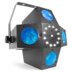 BeamZ Multitrix LED con láser y strobo