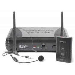 STWM711H Sistema inalámbrico 1 canal VHF con micro de cabeza Skytec